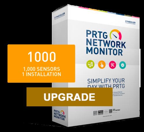 PRTG XL1/Unlimited (Ampliación de 2500) - con 12 meses de